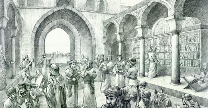 Ciencia e historia - Casa de la Sabiduría, Destrucción de la Gran Biblioteca de Bagdad